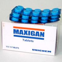 Максиган таблетки