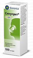 Синупрет сироп