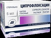 Ципрофлоксацин капли